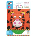 FIRST YEARS - TEETHER SOFT BOOK  JUNGLE